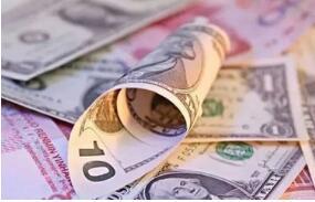 离岸人民币兑美元快速走低 现跌0.19%,报6.9575