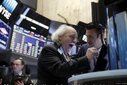 美股周一高开,道指上涨超过240点  标普500指数涨幅1.14%