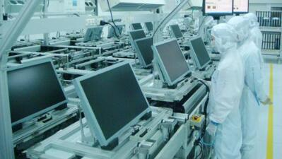 全球首条类7代触摸屏智能生产线在贵阳建成投产