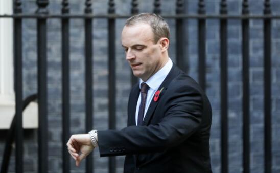 英国脱欧大臣Raab表示11月21日前有望达成脱欧协议