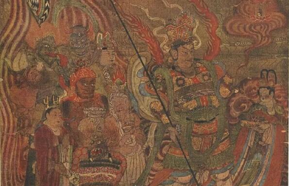 一百年前被英国人盗走的敦煌瑰宝-千佛洞古代佛教绘画