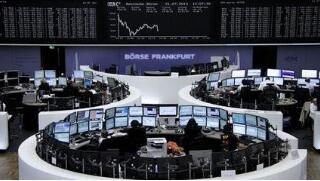 欧洲整体股市周一收盘小幅下跌  英国富时100指数上涨0.14%