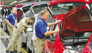 德国10月份工业产出环比下降0.5%,低于市场预期
