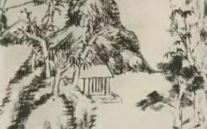 精彩绝伦的八大山人《渴笔山水册》