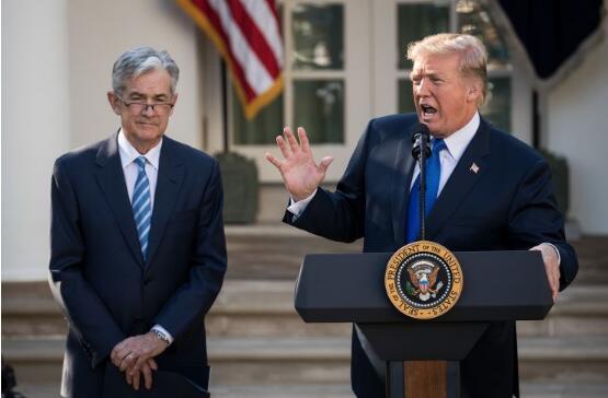 华尔街对特朗普关于解雇美联储主席鲍威尔的言论的观点: