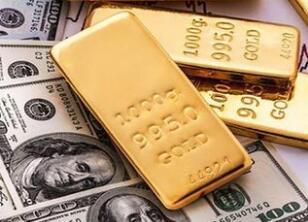 黄金坚挺美元贬值,美国股市抛售