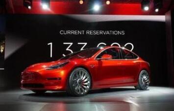 特斯拉年内将交付全部Model 3订单