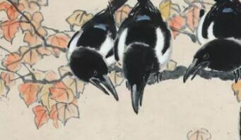 徐悲鸿的《七喜图》背后,有一个复杂而尴尬的恋情故事