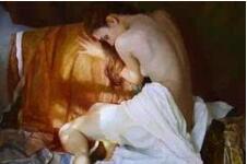 超写实人体油画作品欣赏