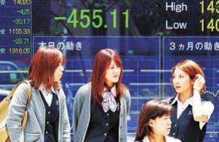 日本股市周四高开后持续上扬,东证指数盘初一度飙升4%