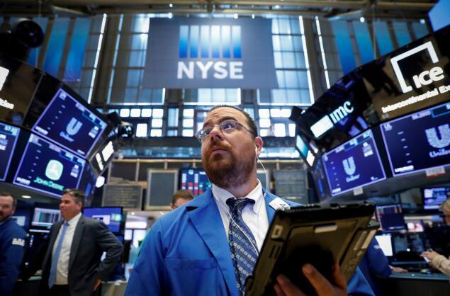 道琼斯指数在狂野交易时段上涨超过250点,下跌600点