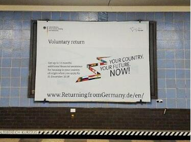 在引入大规模移民到欧洲后,德国现在贿赂外国人离开