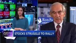 """罗恩·保罗认为,抛售可能引发类似萧条的情况,这种情况可能""""比1929年更糟"""""""
