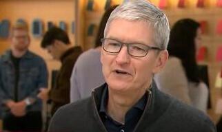 苹果CEO库克(Tim Cook)抨击高通公司,几乎没有机会解决专利纠纷