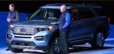 福特推出全新的2020 Explorer,这是8年来首次重新设计的SUV