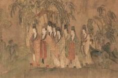 东晋画家顾恺之《洛神赋图》与宋高宗后宫