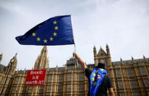 """百余名英国商界人士联名信呼吁尽快就英国""""脱欧""""再次举行公投"""