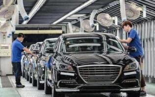 2018年韩国汽车产量连续第三年下滑