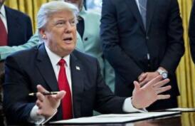 """美国总统特朗普11日签署一份行政令,启动""""美国人工智能倡议"""""""