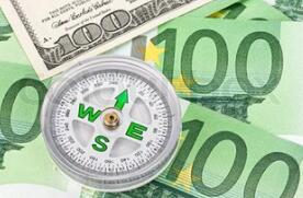 美元周四兑欧元汇率维持在三个月高位附近