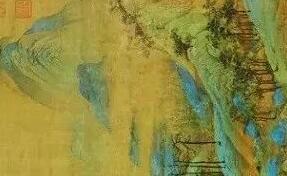 近距离观看一次北宋王希孟的《千里江山图》