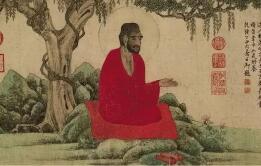 赵孟頫画人物---力学唐人 追求古意