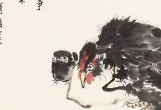 潘天寿:花鸟画的布置,应以势为主!