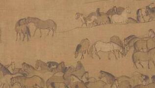 为了李公麟《临韦偃牧放图》的1000多匹马   乾隆杠上了朱元璋