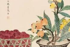 丁辅之 享有民国时期画水果第一大家的美誉