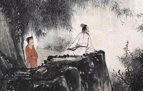 张大千:烟云烘染,人物线条,自愧不如灌父