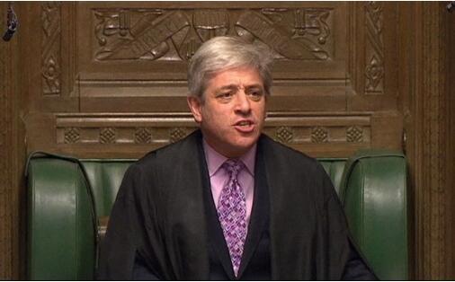 英国众议院议长警告特蕾莎·梅第三次有意义的投票