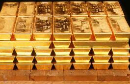 由于全球增长担忧提升其避险吸引力,黄金触及3周高位