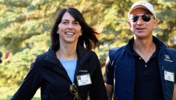 麦肯齐·贝佐斯(Mackenzie Bezos)周四宣布:杰夫·贝佐斯(JeffBezos)离婚后将保留75%的亚马逊股票