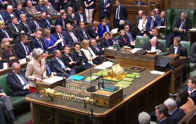 英国首相特里萨·梅请求欧洲将英国退欧延长至6月30日