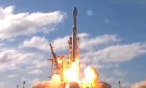 """""""猎鹰重型""""火箭芯级回收后因海上颠簸受损"""