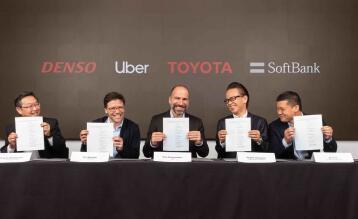 在上市前几周,优步宣布向其自动驾驶汽车集团投资10亿美元