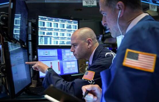 由于利率下滑 周二美股下跌 道琼斯指数跌幅超过200点