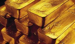 国际现货黄金交易价格周三0.5%至1,332.80美元/盎司