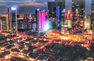 成都中心城区景观照明专项规划(2017-2025)出炉