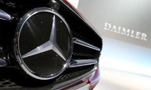 德国政府勒令戴姆勒召回约6万辆柴油车