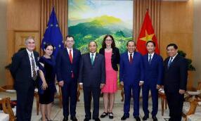 欧盟和越南签署自贸协定 双方将在10年内逐步取消99%的关税