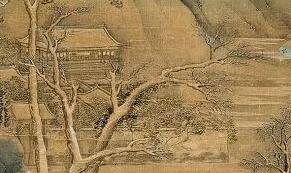 北宋画家赵大年国画作品