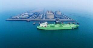 我国首个液化天然气接收站接收卸载LNG突破1000船