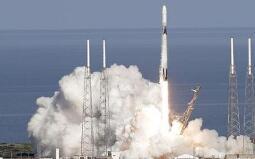 SpaceX第三次发射同一艘龙飞船 为国际空间站运物资
