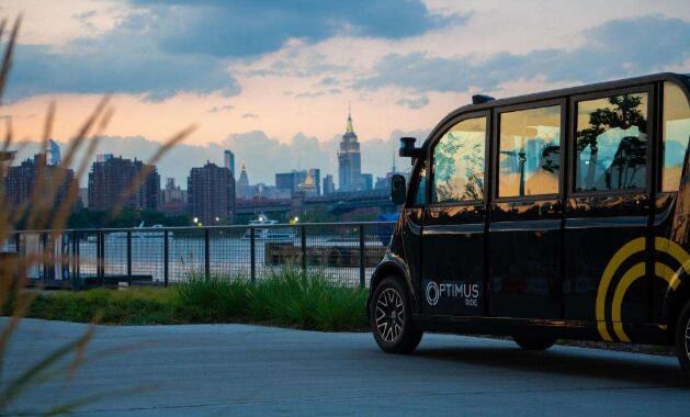 美国纽约市开启首批自动驾驶班车服务