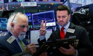 美股周五上涨  道指上涨300点  美债收益率的反弹