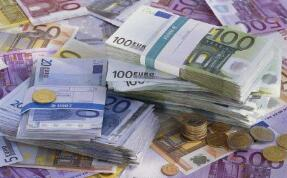 周一欧元兑美元汇率维持在1.10美元以下