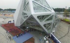 大疆天空之城东塔核心筒封顶 建成后将成为深圳南山区地标性建筑