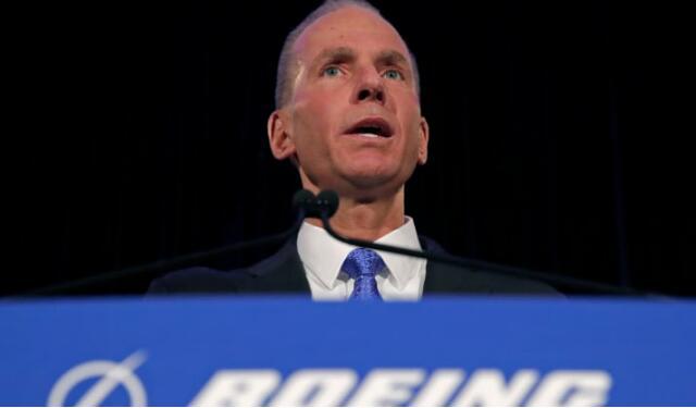 波音公司在737Max危机后罢免CEO丹尼斯•穆伦伯格(Dennis Muilenburg)董事长职务