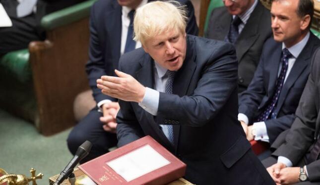 英国议会拒绝鲍里斯·约翰逊法案的短期时间表,英国脱欧陷入停滞